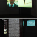 Top pic showing: We Have to Talk About It (2002)\Bottom pic showing: We Have to Talk About It (2002) and Chemical Warfare (2001)\Installation views from ACAF Alexandria Contemporary Art Forum (EG)
