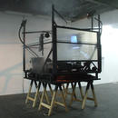 Small Circles of Disaster, 2009 \ Installation view at De Service Garage, Amsterdam