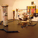 Temple of Borft\Installation overview, mixed media, size variable, from the groupshow Experimenta Folklore in Frankfurter Kunstverein, Frankfurt (DE) 2010