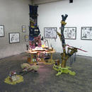 Installation overview, mixed media, size variable, from the groupshow\For Us Against Reality Or Against US, Oslo (NO) 2005