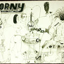 Horny is a gift from God \graphite pencils, 60 + 50 cm, 2005